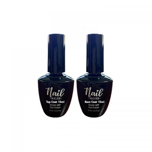 Nail Master Top Coat 15ml ve Base Coat 15ml
